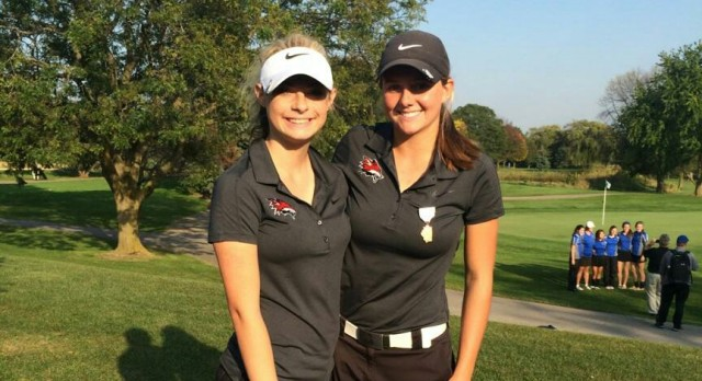 Yorkville High School Girls Varsity Golf finishes 5th place