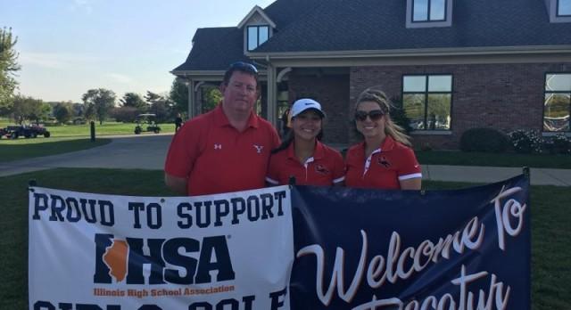 Girls IHSA State Golf