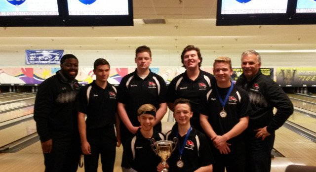 Yorkville High School Boys Varsity Bowling finishes 1st place