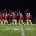 9/29/17 – Varsity Poms perform at Homecoming Game vs Sterling