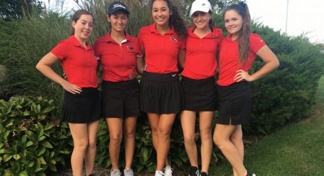 Girls Varsity Golf 6th Place @ Regional Meet