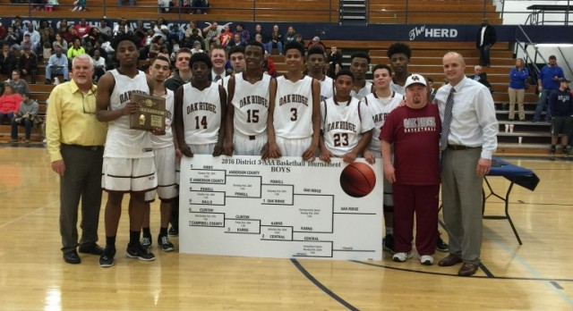 Wildcats – 2016 3-AAA District Basketball Championship