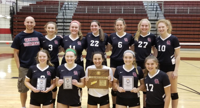 Volleyball Wins District Title