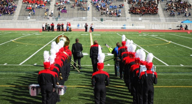 Marching Band Homecoming Performance