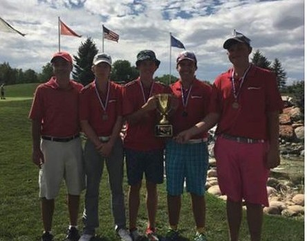 Reds Golfers Win 1st Annual Welco Tournament