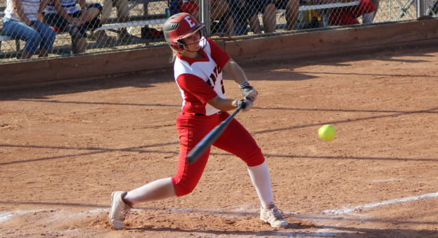 Reds Softball Defeats UH