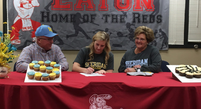 Darcie Kaiser Signs With Sheridan College