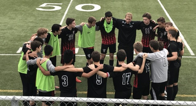 Chandler Prep Men's Varsity Soccer beat Veritas Prep 4-2