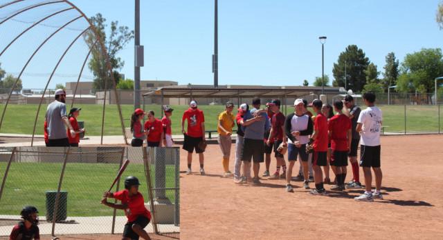 Baseball v. Softball Friendly