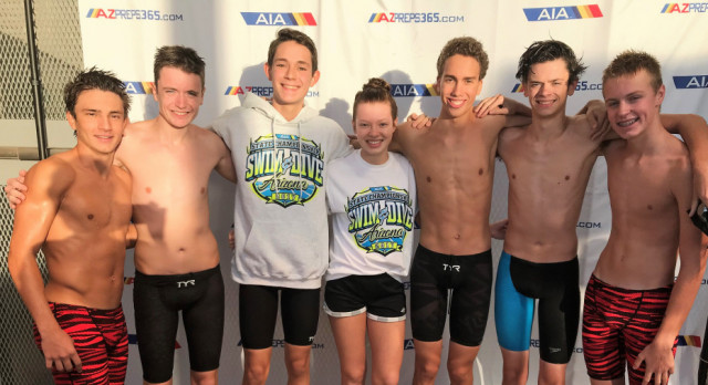 State Meet Finals: Titan Swimmers Excel in 2nd Year