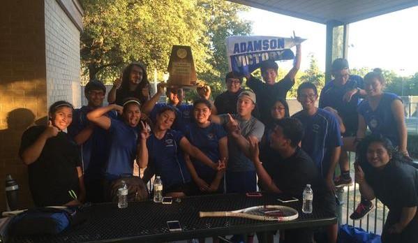 Adamson Leopard Team Tennis squad wins 13-5A Championship