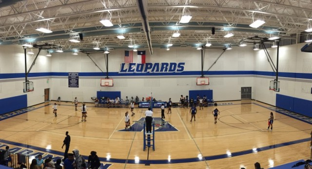 Lady Leopards Volleyball victorious over Samuell, 3-0