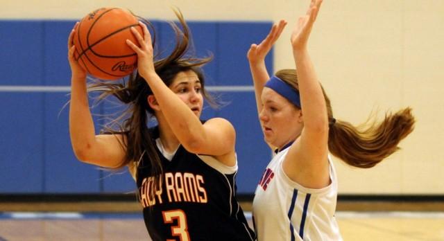 Harkins 42 Points Leads Mineral Ridge High School Girls Varsity Basketball over East Palestine High School 61-53