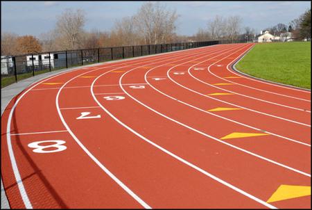 Mineral Ridge High School Track Resurfacing