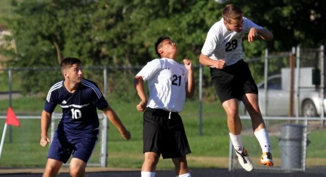 Mineral Ridge High School Boys Varsity Soccer beat Leetonia High School 8-0