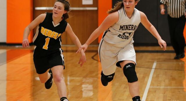Mineral Ridge Girls 8th Grade Basketball beat Jackson-Milton 35-22
