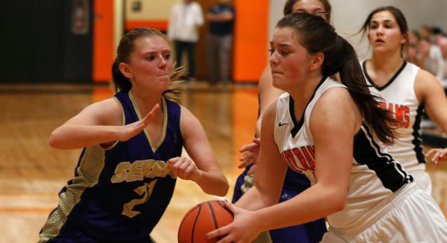 Kolesar 21 Points Leads Mineral Ridge Girls Varsity Basketball Over Sebring 41-17