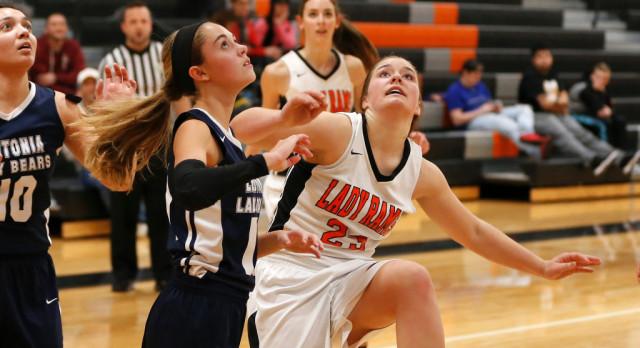 Mineral Ridge High School Girls Varsity Basketball beat Bristol High School 48-34