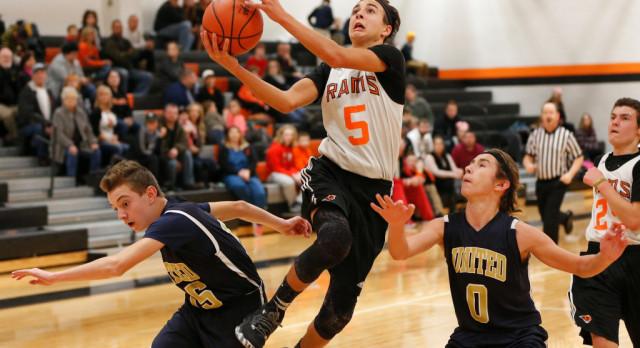 Mineral Ridge Boys 8th Grade Basketball beat Columbiana High School 66-23