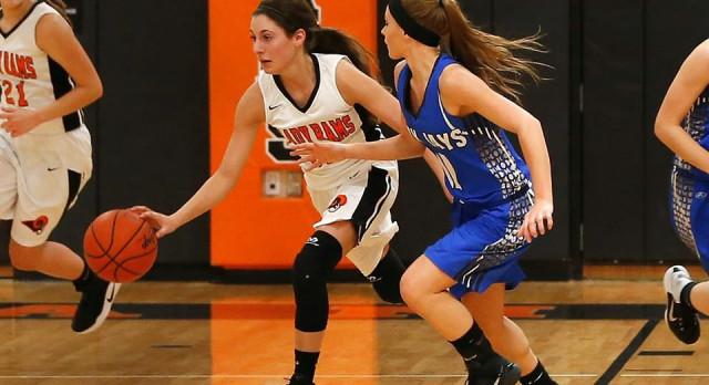 Mineral Ridge High School Girls Varsity Basketball falls to Jackson-Milton Local High School 57-25
