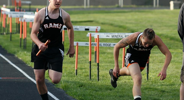 Mineral Ridge High School Boys Varsity Track finishes 2nd place at ITCL Championships