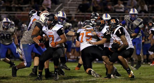 Mineral Ridge High School Varsity Football falls to Western Reserve High School 53-7