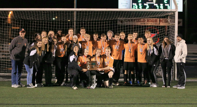 Mineral Ridge High School Boys Varsity Soccer falls to United High School 5-2 in the OHSAA District Finals