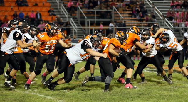 Mineral Ridge High School Varsity Football falls to Springfield Local High School 52-19