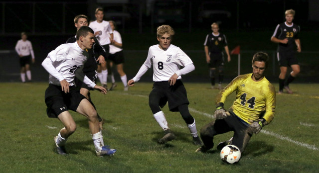 Mineral Ridge High School Boys Varsity Soccer beat Crestview High School 2-1: Next Stop Canfield to take on United Local