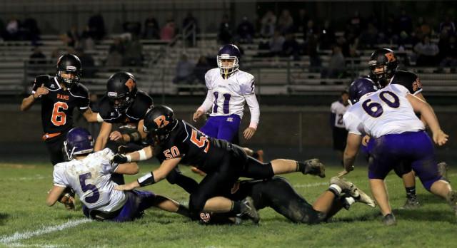 Mineral Ridge High School Varsity Football beat Sebring McKinley High School 55-0