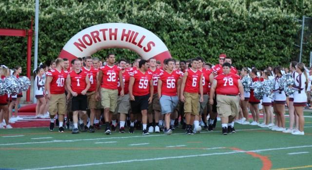 North Hills Football on MSA