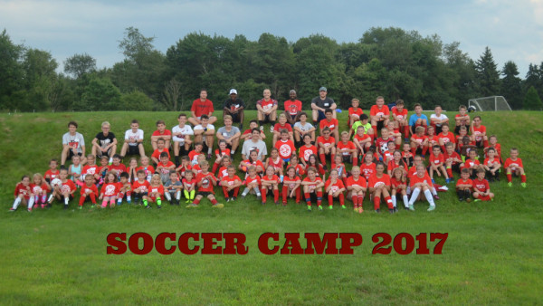2017 NH Varsity Boys Booster Soccer  Camp Week Photo