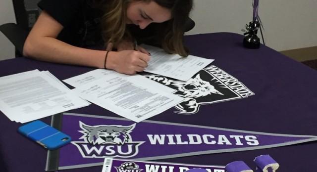 Scholarship Signing to WSU
