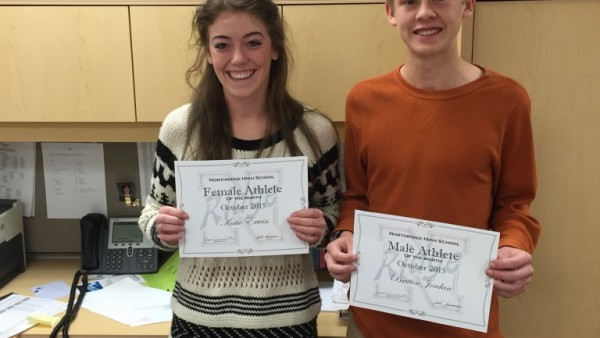 october athletes of month