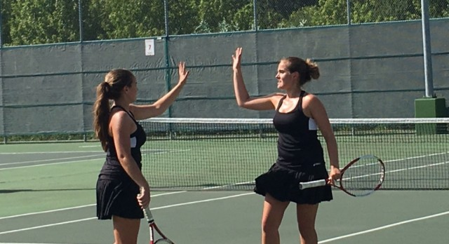 Coppell Varsity Tennis off to a great start!