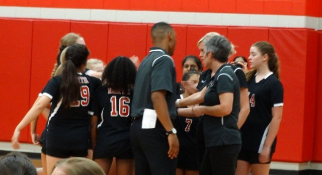 North 7th Volleyball vs. Colleyville
