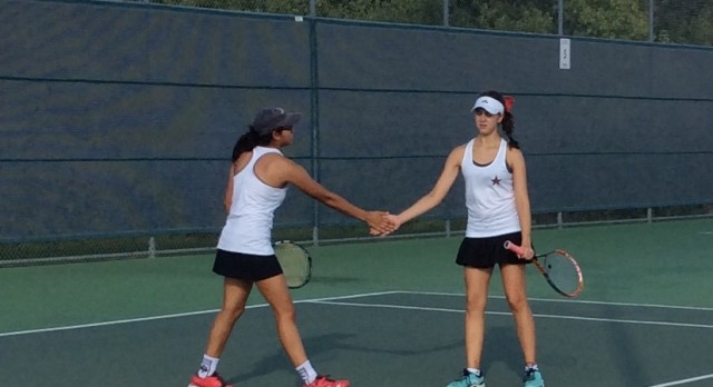 Tennis takes first round playoff win