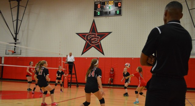 North 7th Volleyball vs. East