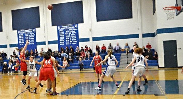 North 8th Basketball vs. Colleyville