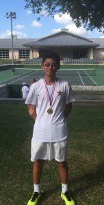 Justin Chen- Region 2-6A champion