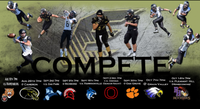Tiger Football Schedule