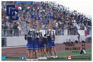 9-9-2016 Cheer V-Football