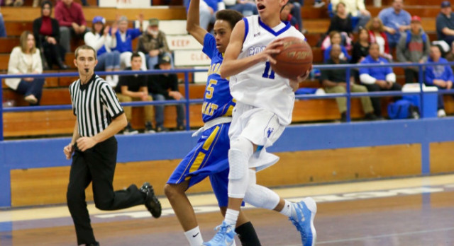 Chino High School Boys Varsity Basketball beat Ontario High School 70-65