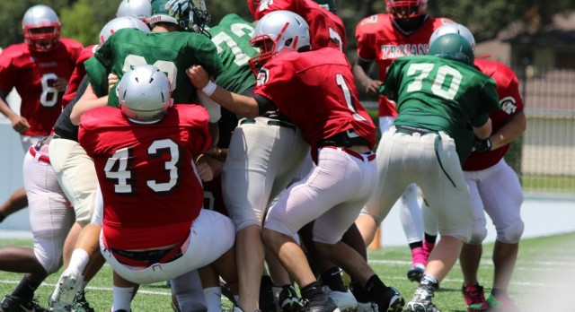 Indian Football vs South Houston (Scrimmage)