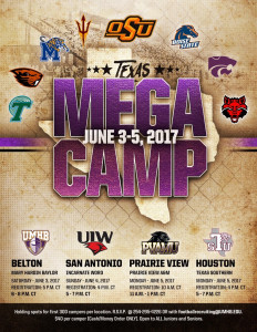 Texas Mega Camp Info