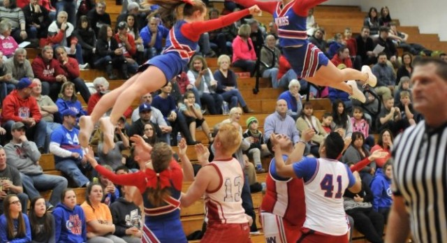 2016-17 West Noble Cheerleading Tryouts March 14-18