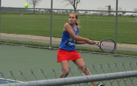 West Noble Tops Prairie Heights in Tennis