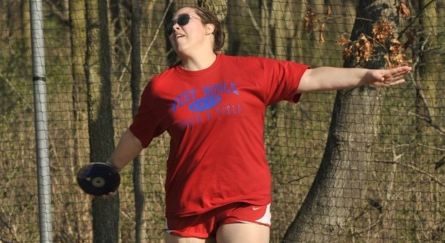 Lady Chargers Down Cougars in Track