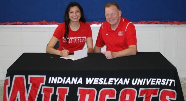 West Noble's Yvette Rojas To Run at Indiana Wesleyan