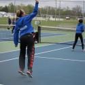 Girls Tennis vs NECC 2nd day 5-14-16